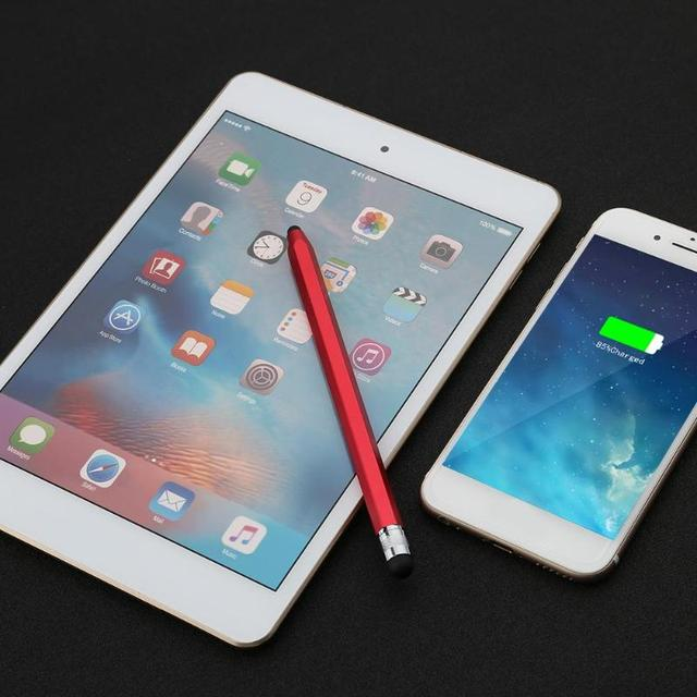 WK129 Silicone Dual Tips Capacitive Stylus Pen Touch Screen Drawing Pen for Smart Phone Tablet PC Computer Colorful  Tablet Pen 2