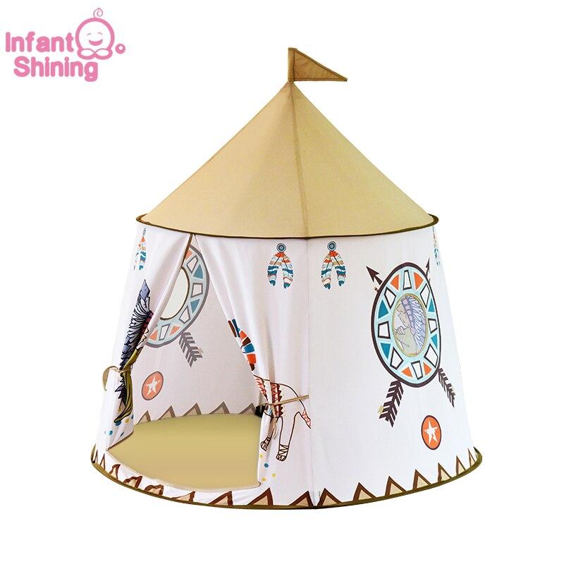 Infantile brillant Playtent jouer maison enfants tente jeu maison 116x123 CM facile transporter bébé intérieur jouet maison petite tente