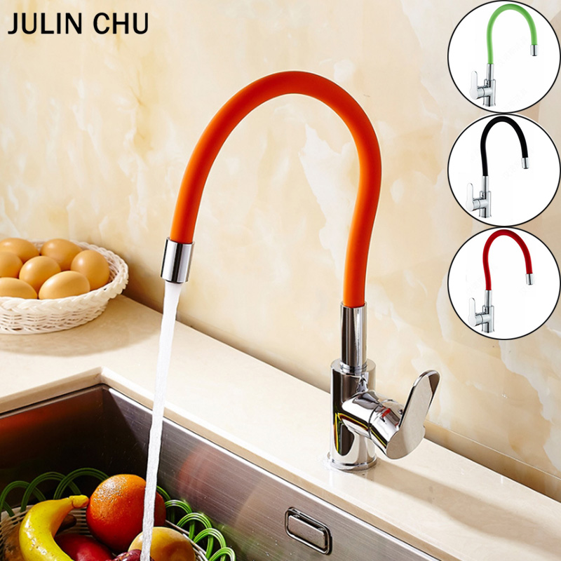 Red Kitchen Faucets Orange Green Hot Cold Water Mix Taps Black Chrome  Basin Tap Nose Any Direction Rotating Kitchen Sink FaucetRed Kitchen Faucets Orange Green Hot Cold Water Mix Taps Black Chrome  Basin Tap Nose Any Direction Rotating Kitchen Sink Faucet