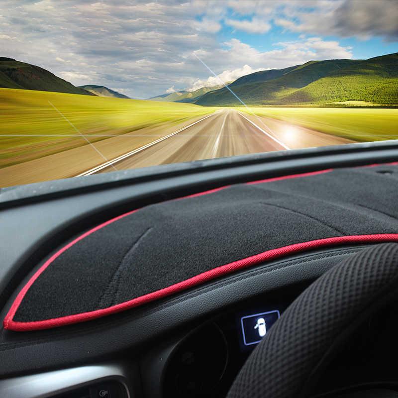 El tablero de instrumentos del coche cubierta salpicadero sol Shad Pad antideslizante alfombras anti-UV LHD para KIA Sorento 2015, 2016, 2017, 2018 2019 Sorento El primer.