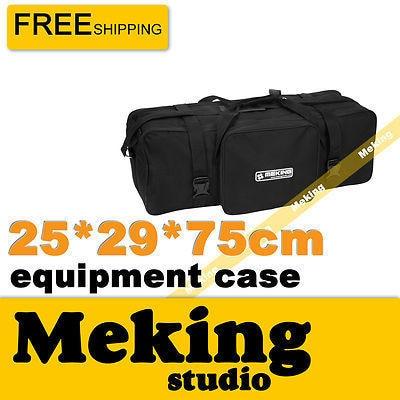 Studio Flash Strobe Lighting Set Carry Case Bag