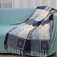 Multi function Thread Full Cover Chenille Blanket Decorative Cobertor Red Manta Para Sofa Beds Travel Plaid
