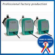 DFD series электромагнитный мембранный дозирующий насос выбор параметров (ручное управление)