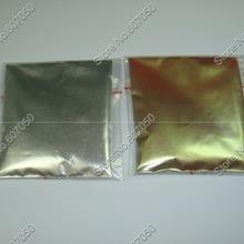 Серебряный Зеленый-Золотой волшебный зеркальный эффект, цвета хрома пигмент алюминиевый порошок яркие блестки для ногтей для УФ-гель для ногтей и макияжа DIY