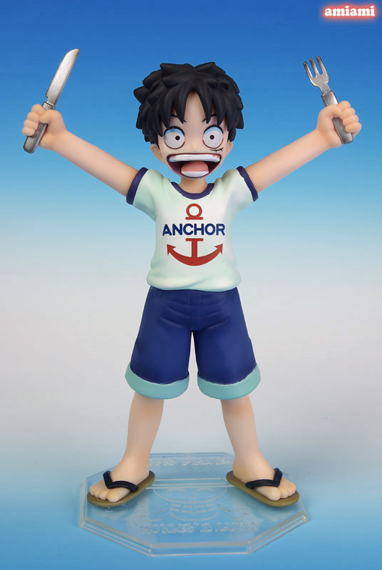 Ny Hot Kid Version Monkey D Luffy Anime Comic One Piece The Straw Hat Pirates Action Figur Figur