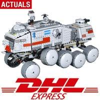 05031 933Pcs Star Toys Wars The Legoing 75151 Clone Set Turbo Tank Set Building Blocks Bricks Kids Christmas Birthday Toys Gift