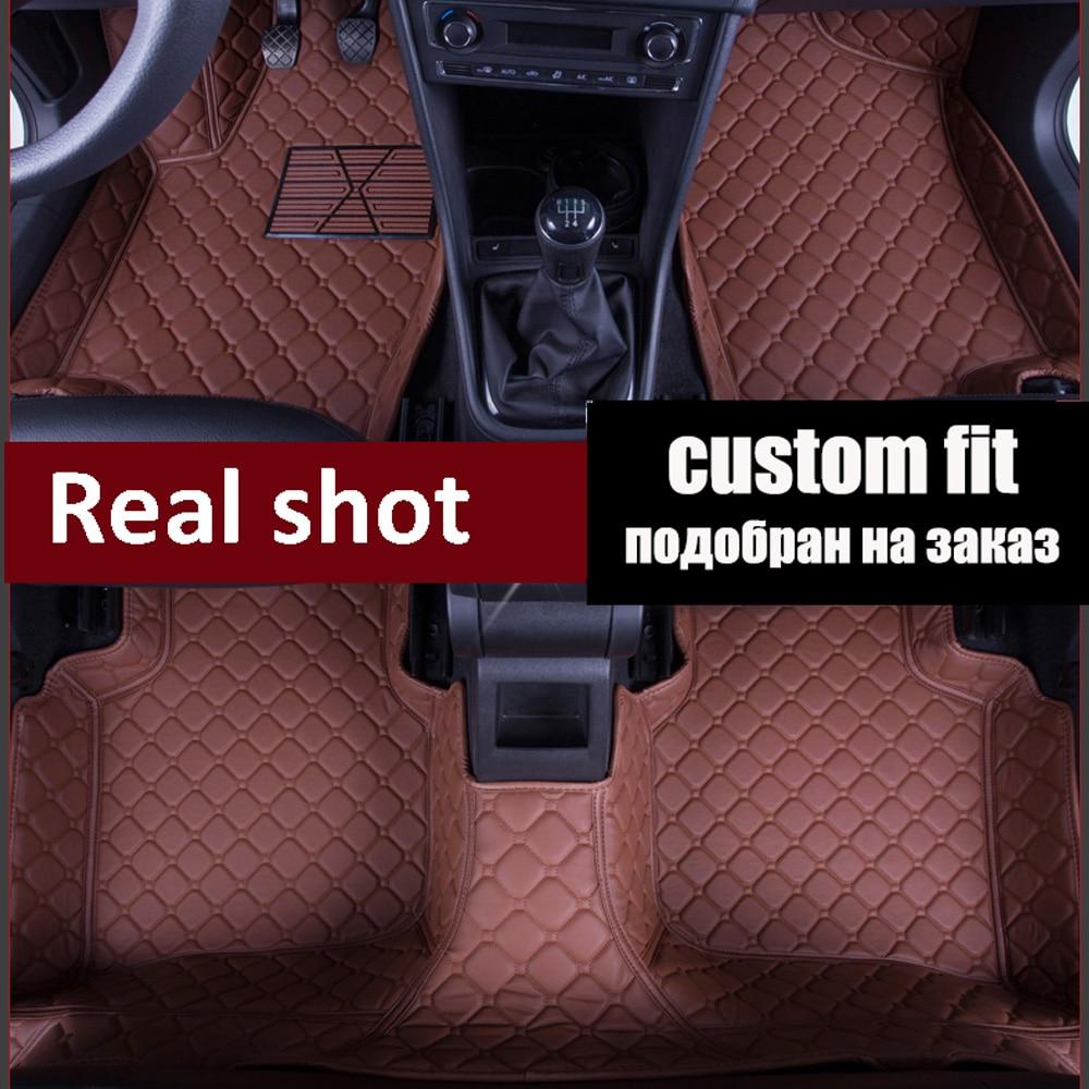 Car floor mats for Mitsubishi Lancer Galant ASX sport V73 V93 5D car styling all weather carpet floor linerCar floor mats for Mitsubishi Lancer Galant ASX sport V73 V93 5D car styling all weather carpet floor liner