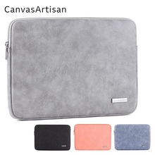 "2020 New Brand PU Leather Bag Laptop Bag 11"",12"",13"",14"",15"",15.6"",Sleeve Case For Macbook Air Pro,Free Drop Ship L11 03"
