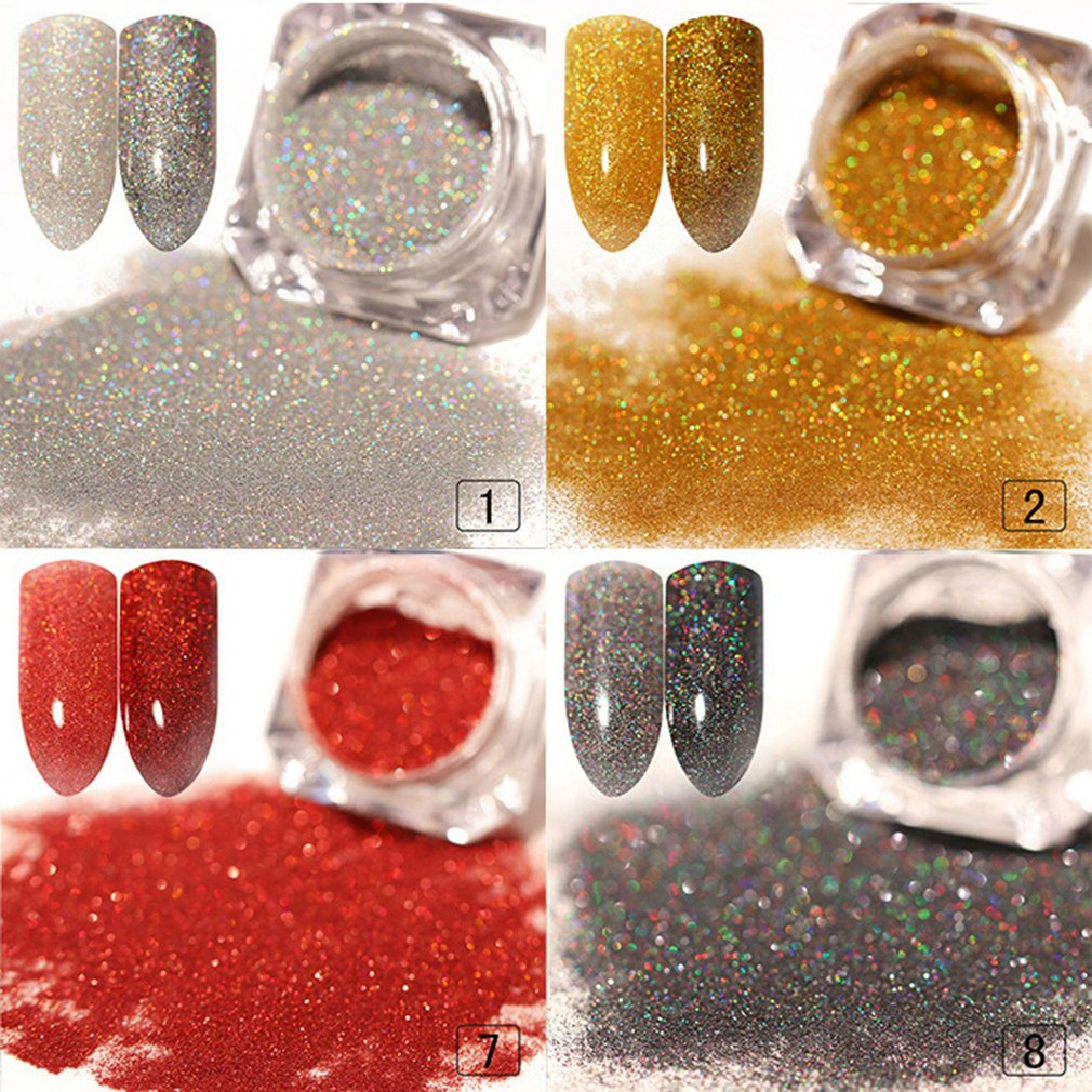 Pearl Shell Chameleon Mirror Nail Powder Glitters DIY Shell Nail Art Chrome Pigment Dust Manicure Decoration