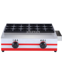 18 Holes Stainless Steel Gas Fuel Commercial Hamburger Making Machine High Efficiency Hamburger Maker Baking Machine Equipment|Food Processors| |  -