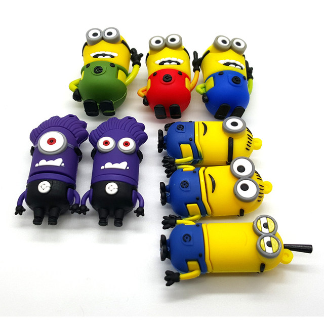 Hot Sale Despicable Me Minions Flash Drive