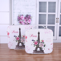 Cartoon Print Cosmetic Case for Portable Large Capacity Square Bag Make Up Bag Cosmetic Travel Bag Flannelette Material