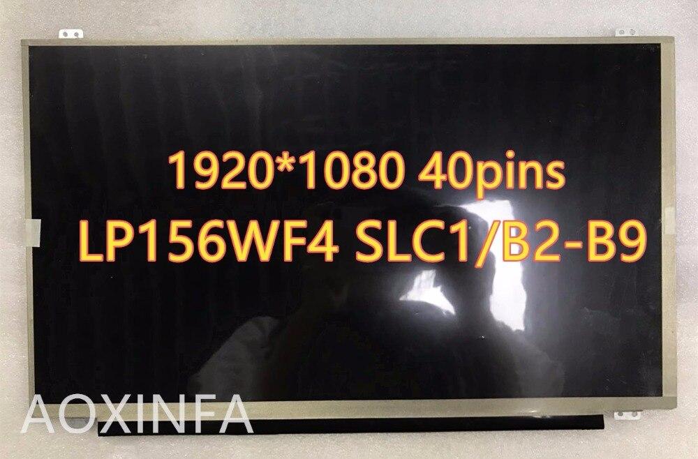 все цены на 15.6 inch IPS Laptop lcd screen LP156WF4 SLB5 SLB6 SLB7 SLC1 SLB2 SLB3 SLC2 LED Display matrix 40pin 1920x1080 онлайн