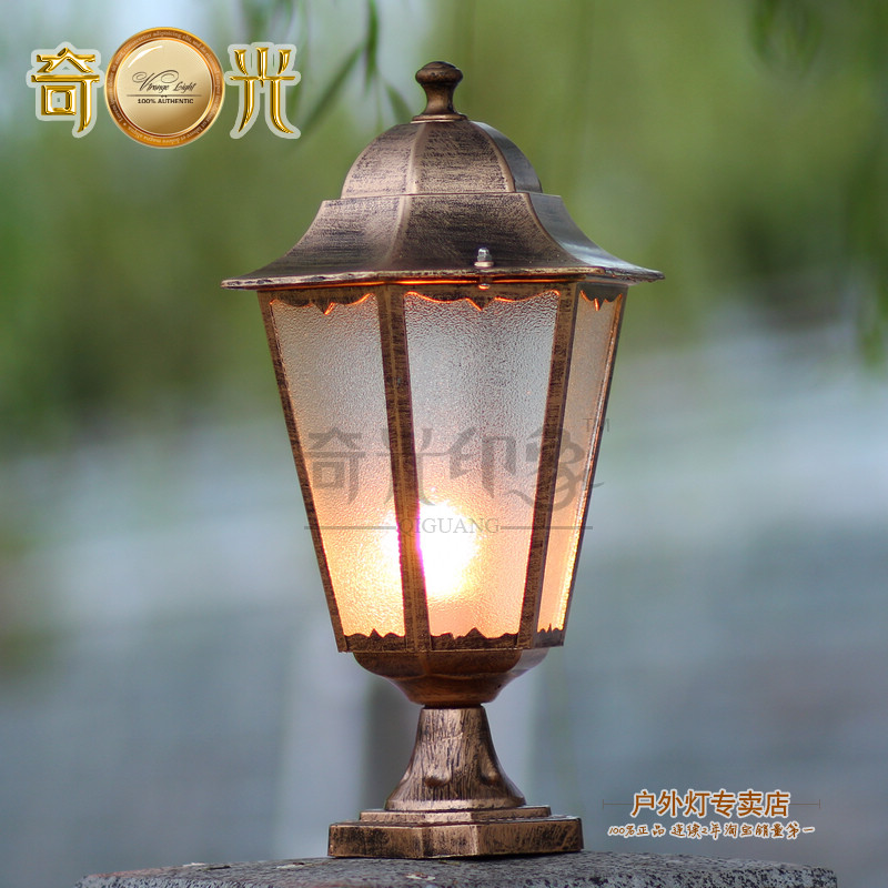 Outdoor Lamp Pillar Lamp Wall Light Wall Light Outdoor Lawn Lamp Waterproof Villa Fence Post Lamp