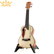 23 Inch Spruce Wood Hawaii  Four Strings Guitar Concert Ukulele  Ukelele Musical Instrument