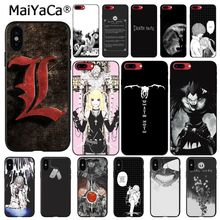 MaiYaCa Anime Death Note Phone Case For iphone