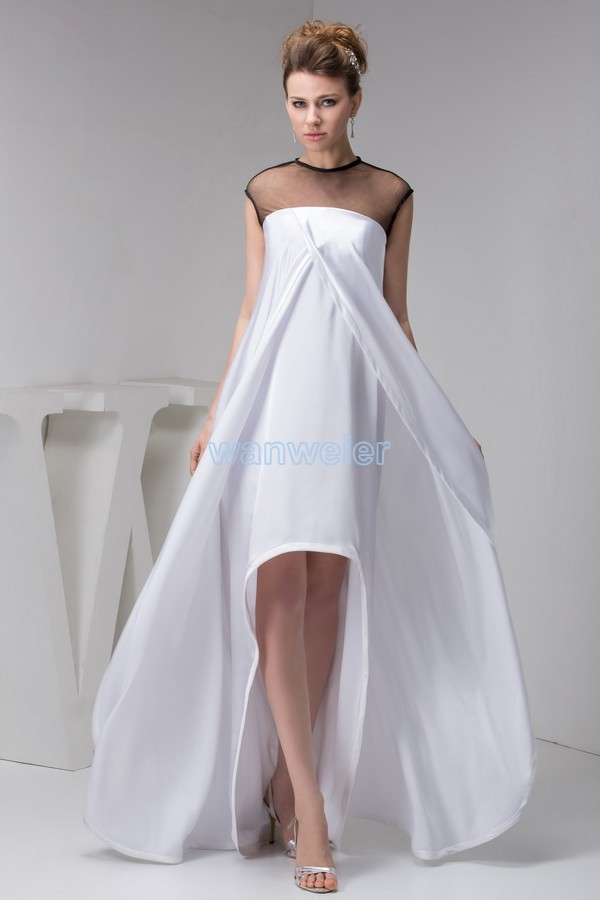 For Sale Gown Brides Maid Hot Sale Short Front Long Back With Jacket Sexy Custom Size/color Evening Mother Of The Bride Dress