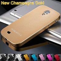 0 5MM Thin Brushed Aluminum Hard Phone Case For Samsung Galaxy S4 I9500 SIV Luxury Metal