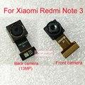 TOP Qualidade Note3 Volta Traseiro ou Câmera Frontal Módulo Flex cabo para xiaomi redmi note 3/pro substituição telefone partes