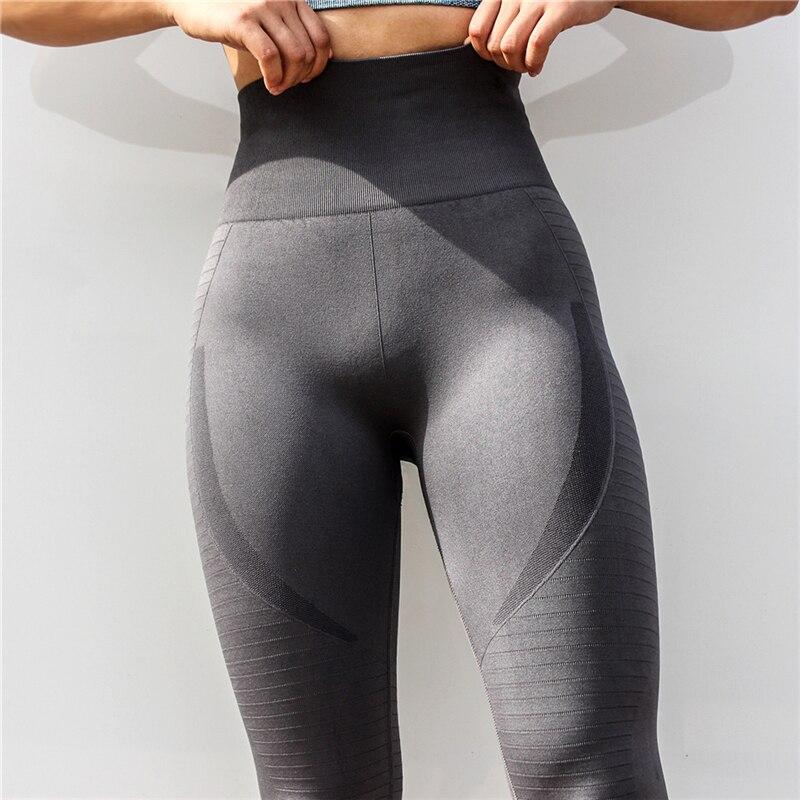 Xs Women Seamless Yoga Pants Push Up Leggings Fitness High Waist Tight Mesh Workout Gym Clothing Track Run Sweatpants Sportswear Yoga Pants Aliexpress