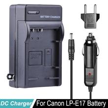 LP-E17 Battery Car Charger For Canon LP E17 LPE17 + EU Plug for Canon EOS Rebel T6i 750D T6s 760D M3 8000D Kiss X8i Camera цены