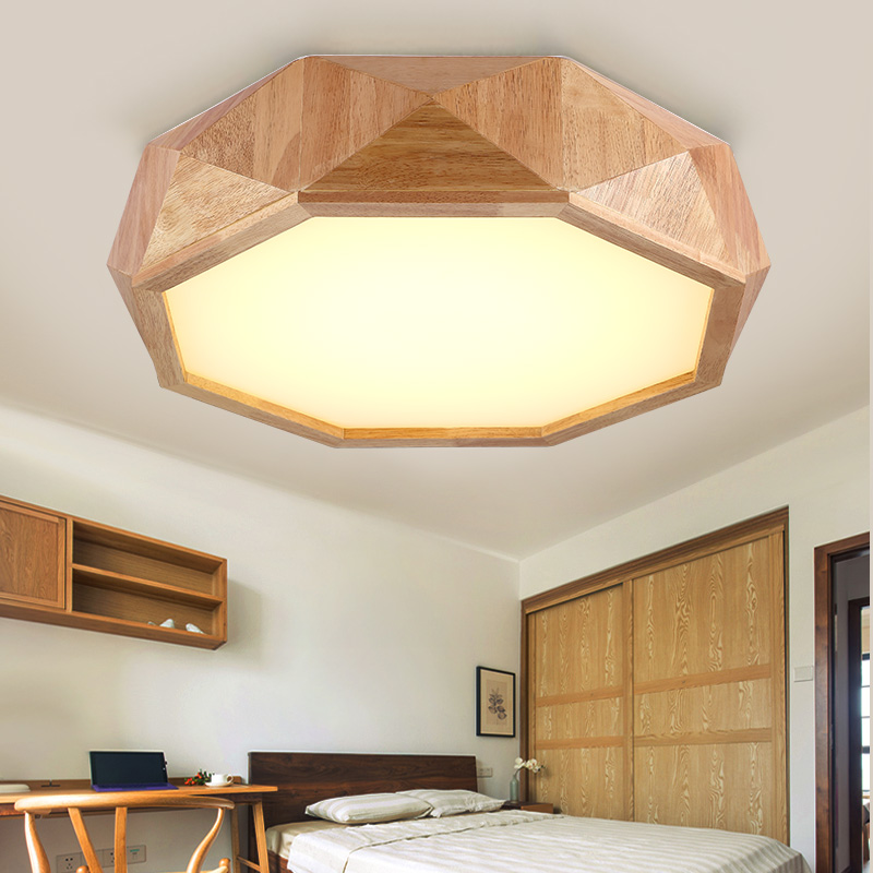 Log solid wood Japanese style ceiling lamp wooden bedroom lamp warm wood lamp creative personality living room ceiling lights ZA creative personality for contemporary and contracted wooden desk lamp fold wood rocker fashionable living room