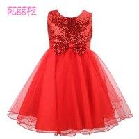 Perakende Yüksek Kalite Pretty Prenses Akşam Abiye Ile İlk Communion elbise Kız Tül L8089