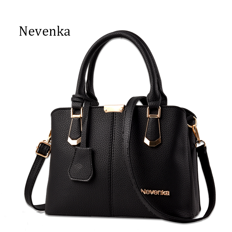 Nevenka Women Bag Big Handbag OL Style Shoulder Bags Casual Zipper Messenger Bag