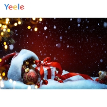 Yeele Christmas Party Photocall Bokeh Lights Gifts Photography Backdrops Personalized Photographic Backgrounds For Photo Studio стоимость
