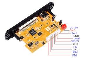 Image 3 - Плата декодера для стереовидео DIY TV BOX RM/RMVB FLAC APE BT электронная книга аудио декодирующий модуль MP3 AUX CVBS DDR2 U диск и TF USB FM
