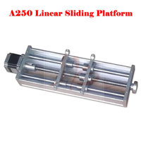 No Tax To Russia LY A250 Linear Sliding Platform For Mini Cnc Machine