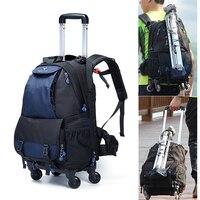 Большая космическая тележка фото SLR Чехол для Камеры нейлоновые сумки большой емкости камера водостойкая ж/дождевик рюкзак сумка