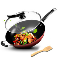 Kitchen wok non stick pan noodles wok home multi function cooking cooker gas stove for WF403953