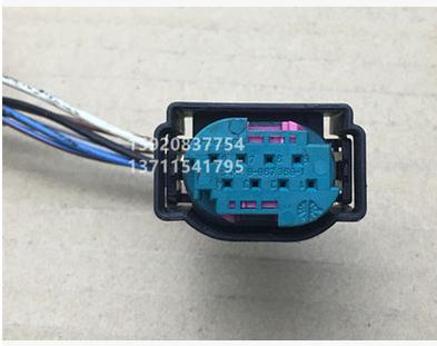 1PCS FOR BMW front and rear bar radar probe plug connector USED 1pcs for bmw computer board plug connector used 7 505 478