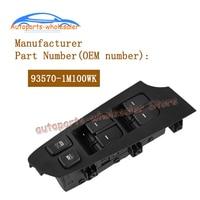 New 93570 1M100WK 935701M100WK For KIA Forte Cerato Koup 2010 2013 Power Window Control Switch car accessories