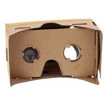 20 штук DIY виртуальной реальности vr для Google cardboard мобильного телефона 3D Очки K3K5