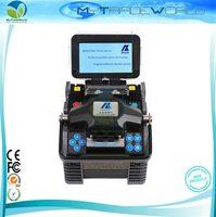 Portable Digital Optic Fiber Fusion Splicer Machine ALK88 with Optical Fiber Cleaver / Fiber Stripper Multi Language