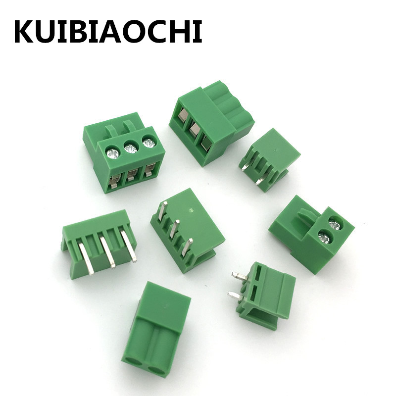 10 sets/lot Terminal plug type 300V 10A HT5.08 5.08mm pitch connector pcb screw terminal blocks connector