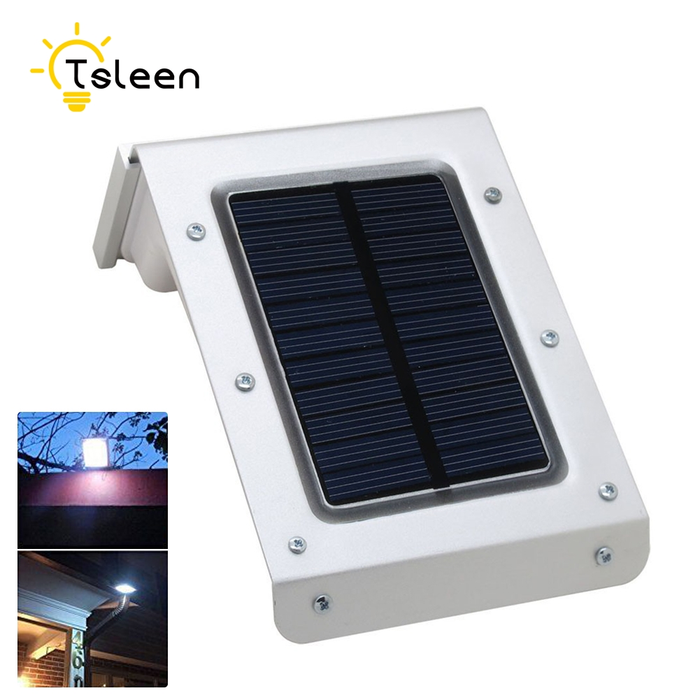 20LEDs Solar Powered Outdoor Motion Sensor <font><b>Light</b></font> Waterproof Wireless Solar <font><b>Light</b></font> Home Security Garage Garden Led Solar Lamp