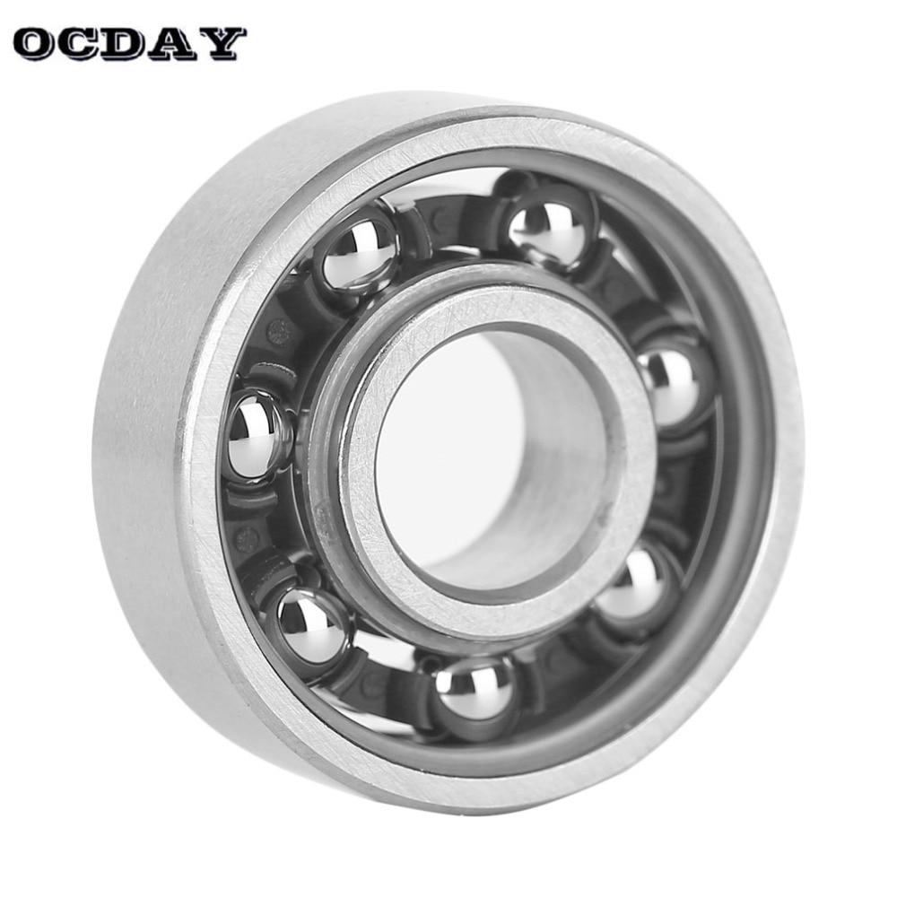 OCDAY Hand Spinner Steel EDC Finger Spiner Anti Stress Toy