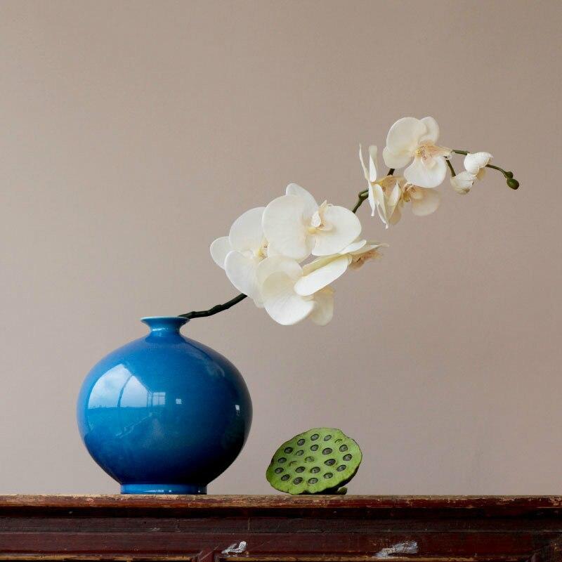 Modern Home Decor Fiore In Ceramica Da Tavolo Vaso di Colore Smalto Melograno Forma Decorazione Della Porcellana Vasi-in Vasi da Casa e giardino su  Gruppo 1