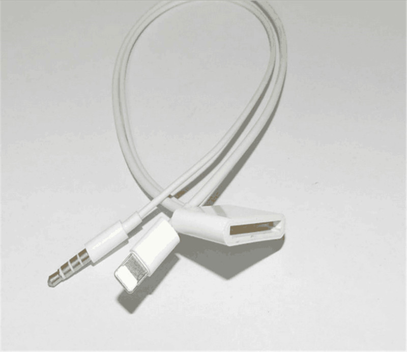 Image 5 - 2017 new 8 Pin To 30 Pin Dock 3.5mm ihome Audio Charger Adapter Converter Cable For iPhone 6 6s Plus 5S to iphone 4S 30pin Dock-in Computer Cables & Connectors from Computer & Office