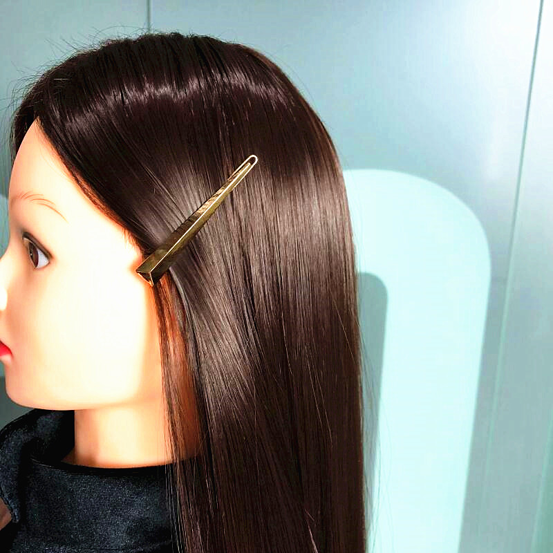 CHIMERA Metal Hair Clips Fashion Simple Hairpins Gold Triangle Barrette Side Hairgrip for Women Lady Girls Headdress Accessories in Hair Jewelry from Jewelry Accessories