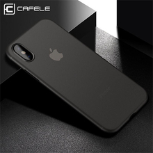 Cafele Phone Case For iPhone X Ultra Thin Cover Matte Hard PP On 10 Back Protective Cases Free Shipping