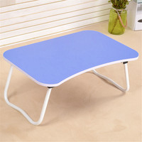 Laptop Desk Table With Foldable W Shaped Leg Dormitory Lazy Desk On Bed Chirldren Study Dining