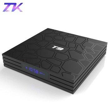 T9 TV Box Android 8.1 4GB 64GB RK3328 Quad-Core 4K HD Wifi BT4.0 USB3.0 Smart TV Box 4K Google Play Store Netflix Youtube Box TV