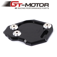 GT Motor-Motorcycle CNC Side Stand Enlarge Kickstand for BMW F800GS 08-16