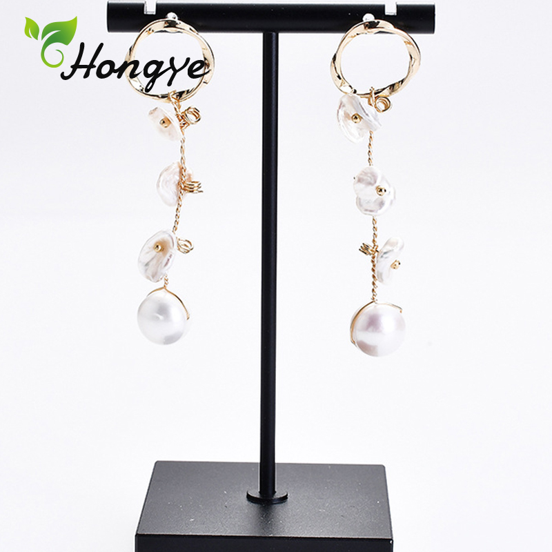 Vintage Dangler Earrings for Women Gold Color Silver 925 Ear Jewelry 2019 Modern Design Brincos Long Tassel Drop Earring New in Earrings from Jewelry Accessories