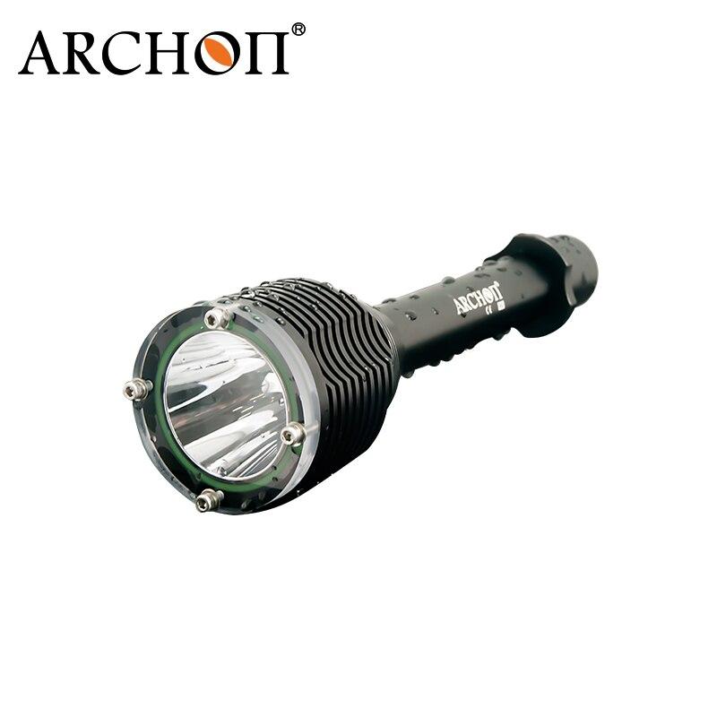 Lumière de plongée ARCHON D20 W26 Cree XM-L T6 1000 Lumen en aluminium étanche sous-marine 100 mètre lampe de poche professionnelle de plongée