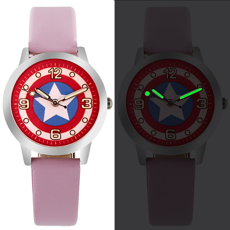 Hot Sales Cute Cartoon Pictures Cartoon Watches Children Girls Women Crystal Dress Quartz Wrist Watch Montre Enfant Mix Color